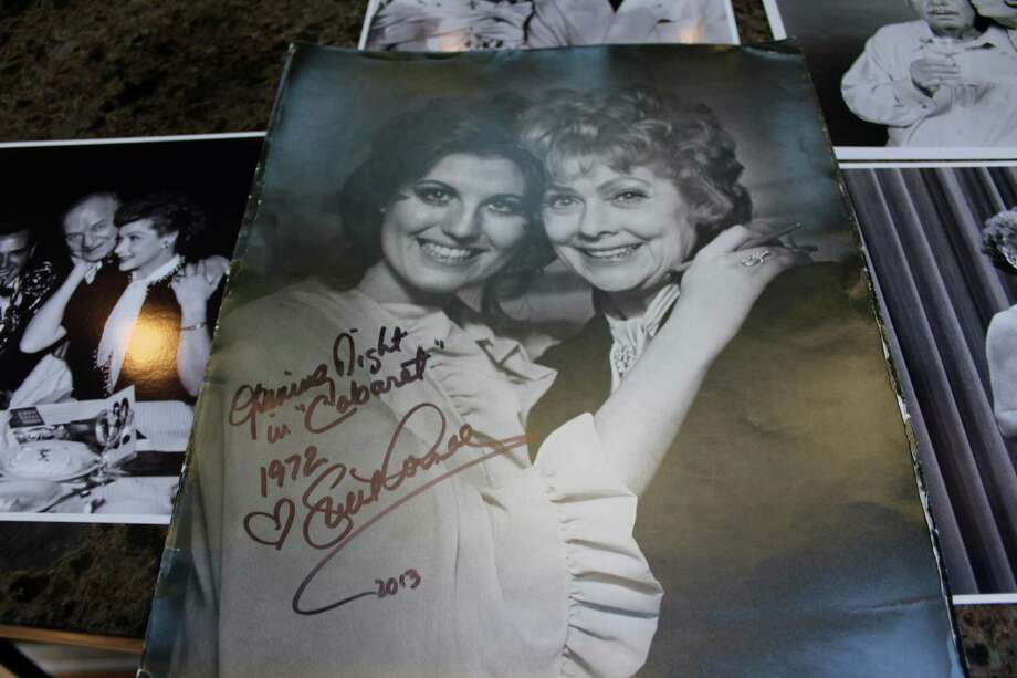 Part of Maida and William Webster's collection of Lucille Ball ephemera. Photo: Justin Papp / Hearst Connecticut Media / New Canaan News