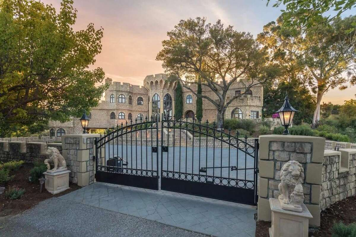 Castle on the hill:21449 Toll Gate Road in Saratoga, Calif., is on the market for $9 million.