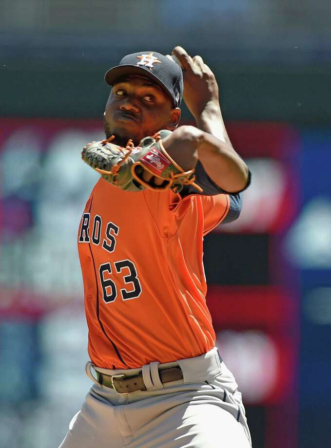 David Paulino gets the start for the Astros Tuesday in the second game of a four-game series against the Royals. Photo: Hannah Foslien, Getty Images / 2017 Getty Images