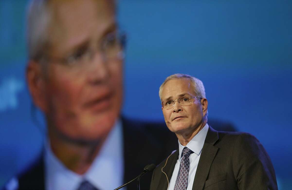 """Low investment is """"going to exacerbate supply and demand tightness as the economies pick back up again, and then in time we'll see supply pick up and rebalance,"""" Exxon Mobil CEO Darren Woods says."""