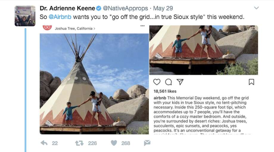 Airbnb apologizes for 'Sioux style' tepee ad - SFGate