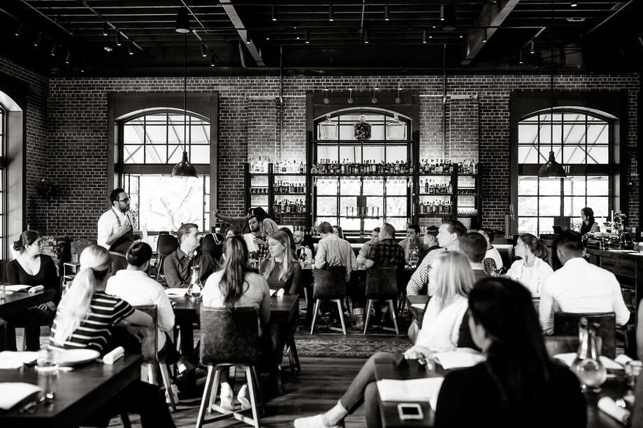 The Charter Oak dining room, Photography by Kelly Puleio / KPPhoto