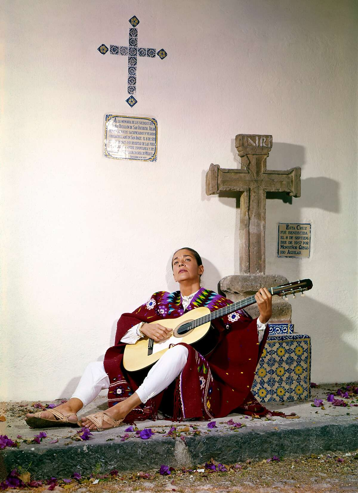 An image of Chavela Vargas from the documentary