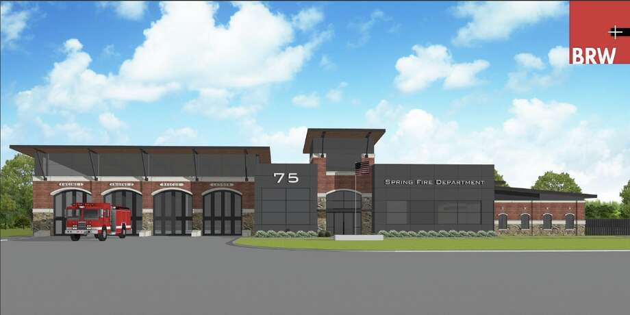 The Spring Fire Department is working to keep up with the growth with two new fire stations underway. Fire Station No. 75 is under construction, above, located at 3915 FM 2920. The new $7.6 million fire station will be complete by October. Plans also are underway to replace Fire Station No. 74, located at 24030 Old Aldine Westfield Road in Spring.