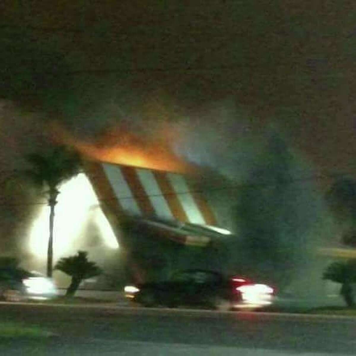 Facebook user Tatiana Maddox shared this photo of the May 31 Whataburger fire in Liberty on the Dayton News page.