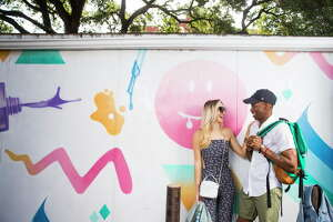 Free Press Summer Fest fashion Tuesday, May 30, 2017 in Houston.