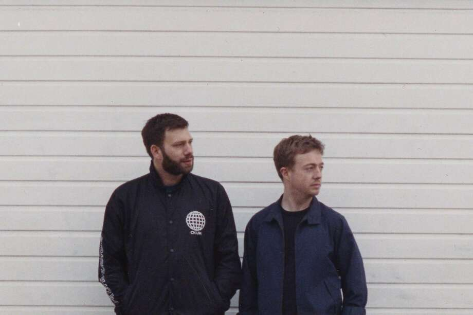 Dominic Maker (left) and Kai Campos are the British duo Mount Kimbie. Photo: Courtesy