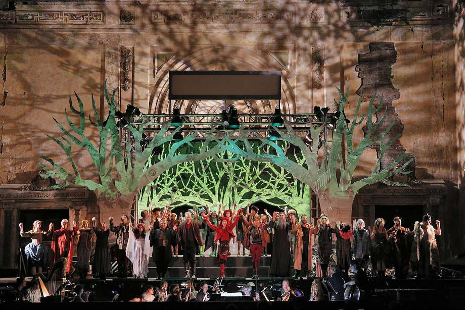"""West Edge Festival, with """"The Cunning Little Vixen"""" in 2016, moves to a new location this year. Photo: Cory Weaver"""