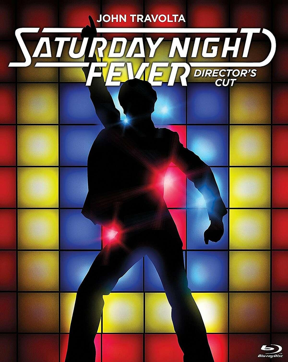 "Blu-ray cover: ""Saturday Night Fever"""