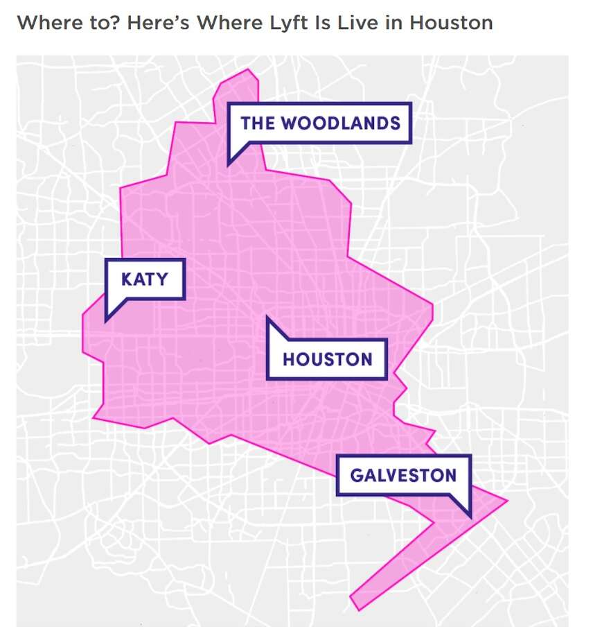 Lyft Returns To Houston Gets Some Of The Geography