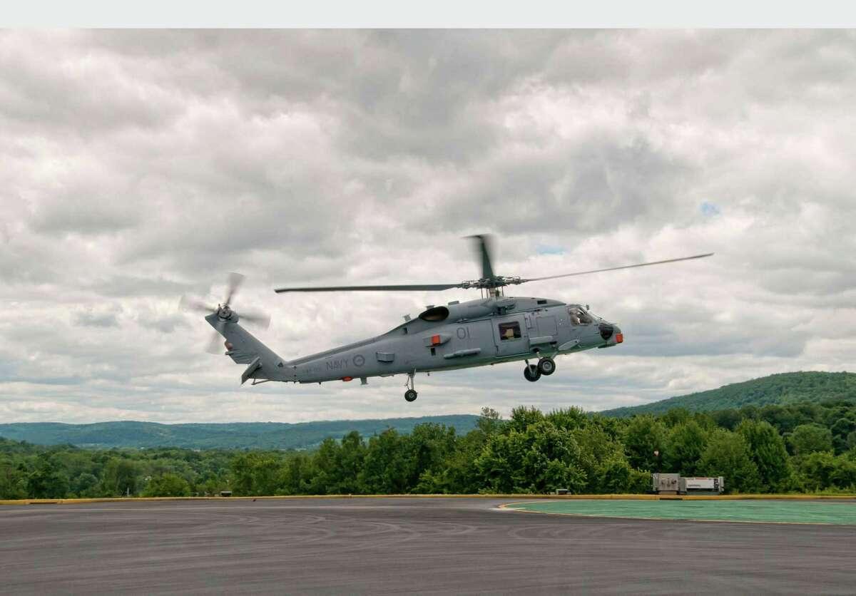 A Sikorsky Aircraft MH-60R Seahawk