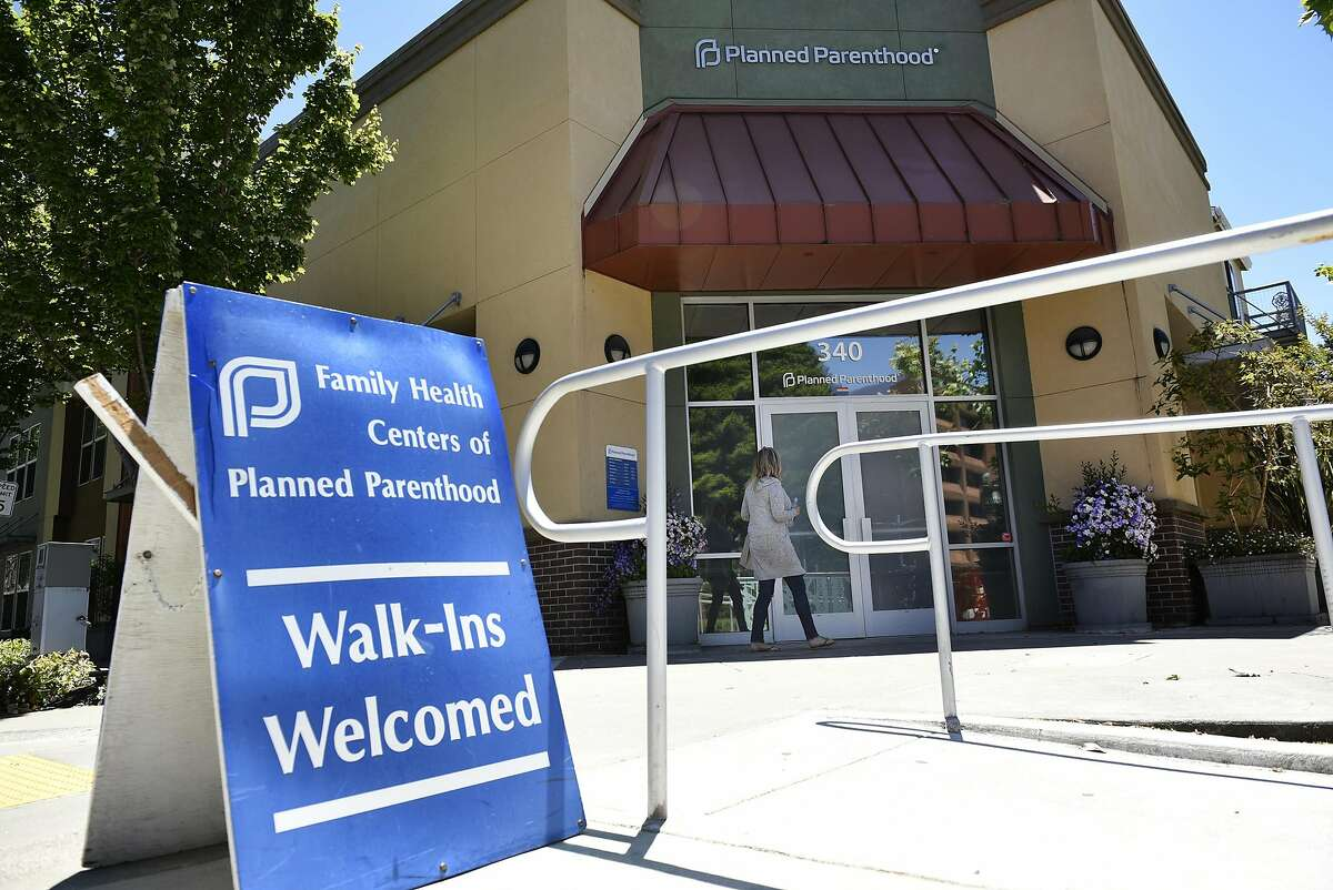 A person walks into a Planned Parenthood office on Marina Way in Richmond, CA, on Wednesday May 31, 2017.