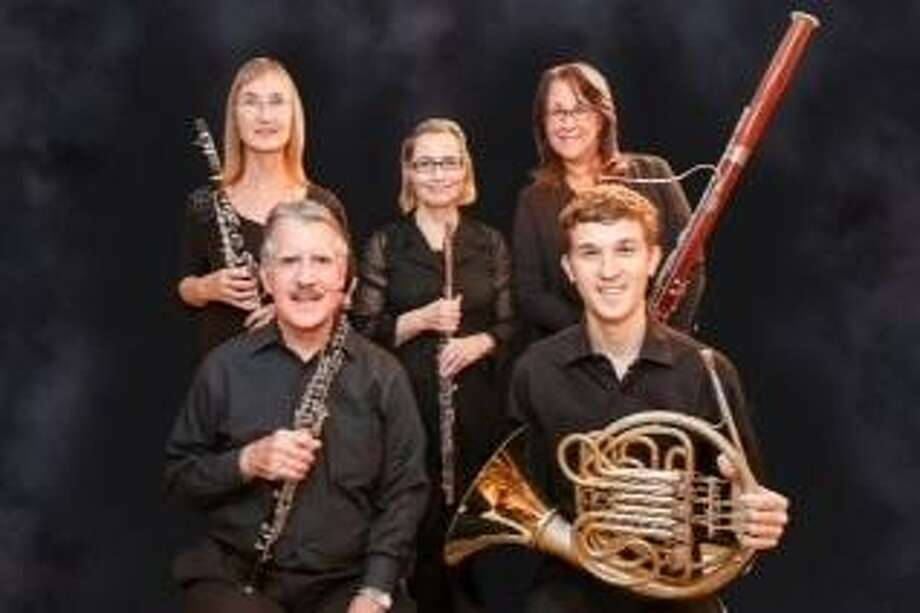 The Madera Winds will perform for the Greenwich Tree Conservancy's 10th Anniversary Celebration Concert at the Seaside Garden at Greenwich Point. The quintet features Janet Atherton, clarinet; Kerry Walker, flute; Rosemary Dellinger, bassoon; Ralph Kirmser, oboe; Zachary Glavan, horn. Photo: Photo Provided By Greenwich Tree Conservancy / Contributed Photo