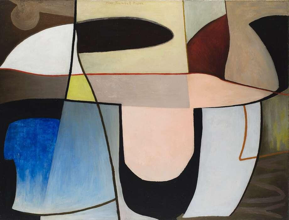 Alice Trumbull Mason, Untitled (1939) Photo: Courtesy Weinstein Gallery