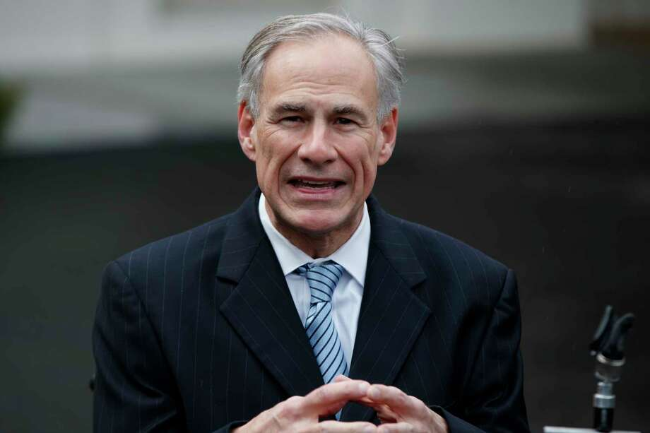 """Texas Gov. Greg Abbott said, """"Once you cross the Travis County line, it starts smelling different. And you know what that fragrance is? Freedom."""" Photo: Evan Vucci, STF / Copyright 2017 The Associated Press. All rights reserved."""