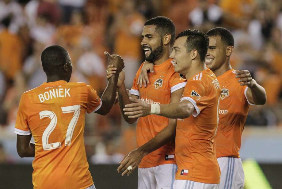 The Dynamo could face a unique weather phenomenon during their trip to Minnesota. Photo: Yi-Chin Lee/Houston Chronicle
