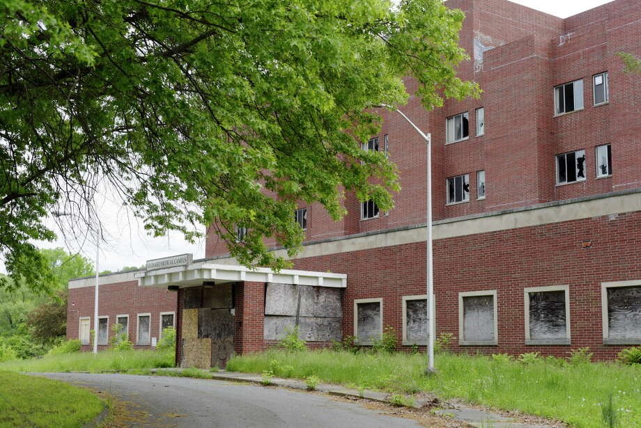 A view of the former Leonard Hospital on Turnpike Road, seen here on Wednesday, May 24, 2017, in Troy, N.Y.   (Paul Buckowski / Times Union) Photo: PAUL BUCKOWSKI / 20040592A