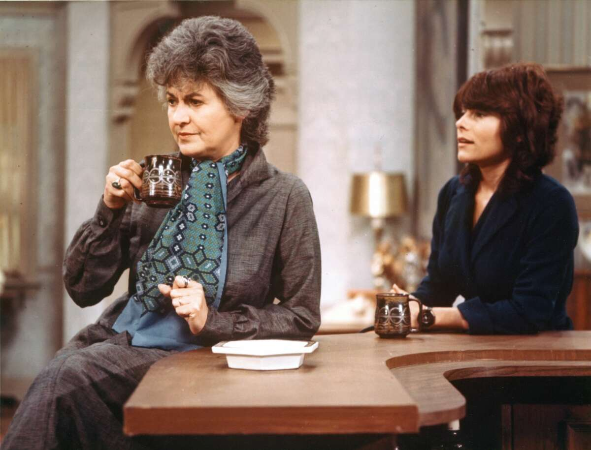 Beatrice Arthur and Adrienne Barbeau,