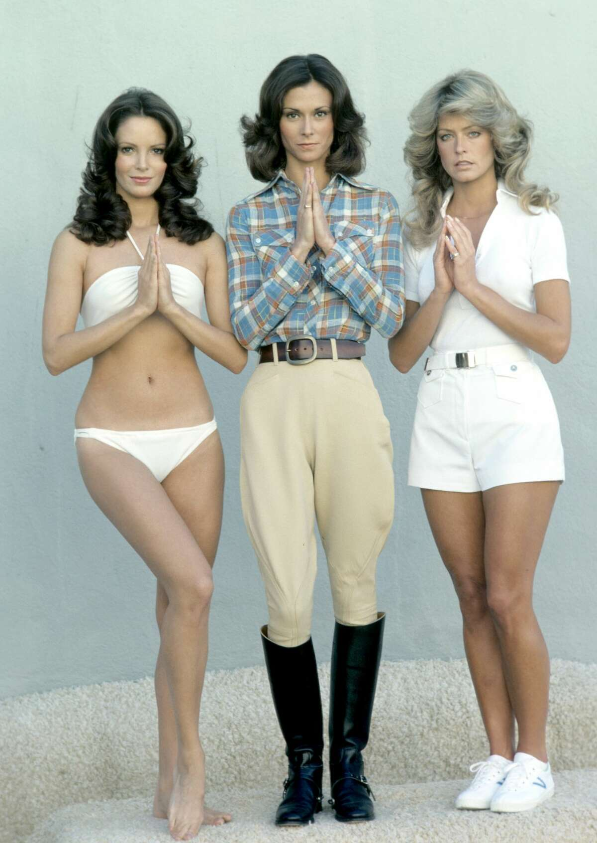 1976 | Charlie's Angels Three female private detectives have a private boss, Charlie, that they solve mysteries for clients.
