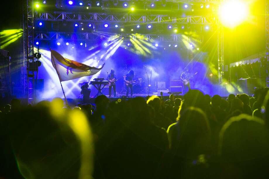 Kurt Vile and the Violators will perform at the 50th anniversary Monterey International Pop Festival on Sunday, June 18. Photo: Grant Hindsley, SEATTLEPI.COM