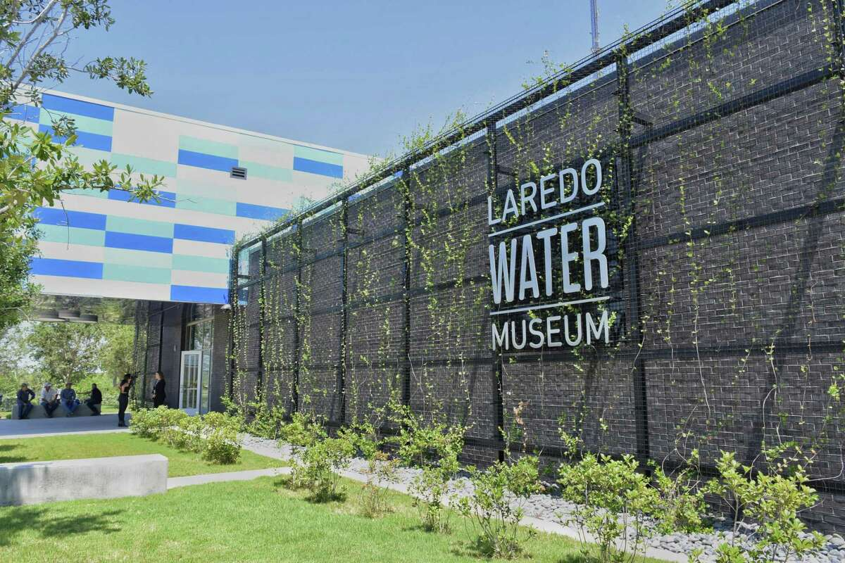 Several elected officials and members of the community celebrated the Laredo Water Museum ribbon cutting ceremony Tuesday, May 30, 2017.