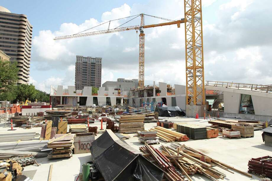 Commercial Construction In Houston Jumps As Residential