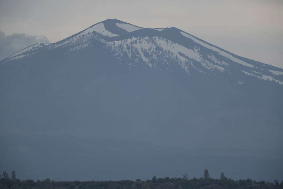 Mount Lassen is the southernmost active volcano in the Cascade Range. Photo: Paul Kuroda, Special To The Chronicle