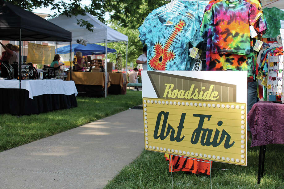City Park will be bustling with activity June 9 and 10 during the Route 66 Festival. Photo: Bill Tucker • Intelligencer