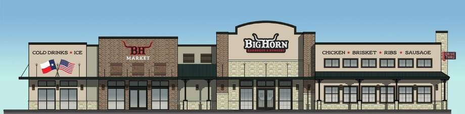 An 11,000-square-foot Big Horn BBQ location will be going up in Manvel at Texas 6 and FM 1128.   Photo: Paragon Solutions / Big Horn BBQ