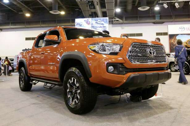 File photo of a 2016 Toyota Tacoma. Toyota saw year-over-year sales of its Tundra and Tacoma pickup trucks rise by at least 4 percent in June as Americans still love their trucks.