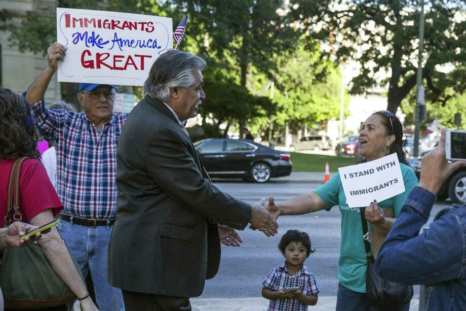 Councilman Ray Lopez has been the council's most vocal proponent of the lawsuit. Photo: Ray Whitehouse / For The San Antonio Express-News