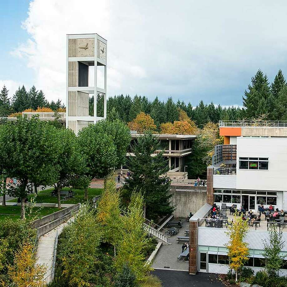 The Evergreen State College campus in Olympia. Photo: The Evergreen State College