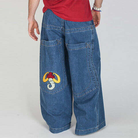 6935ebd2fc JNCO wide-legged jeans were all the rage in the 1990s and made a comeback
