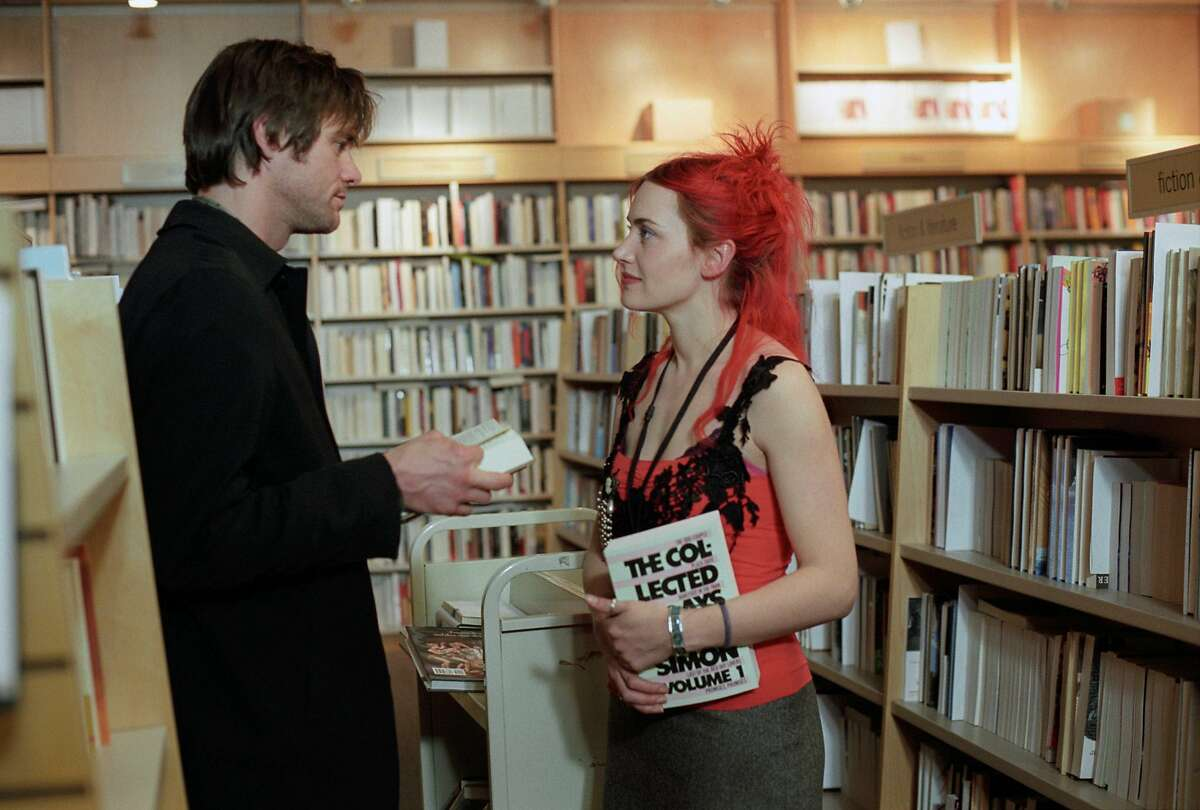 """Jim Carrey and Kate Winslet in a scene from """"Eternal Sunshine of the Spotless Mind."""""""
