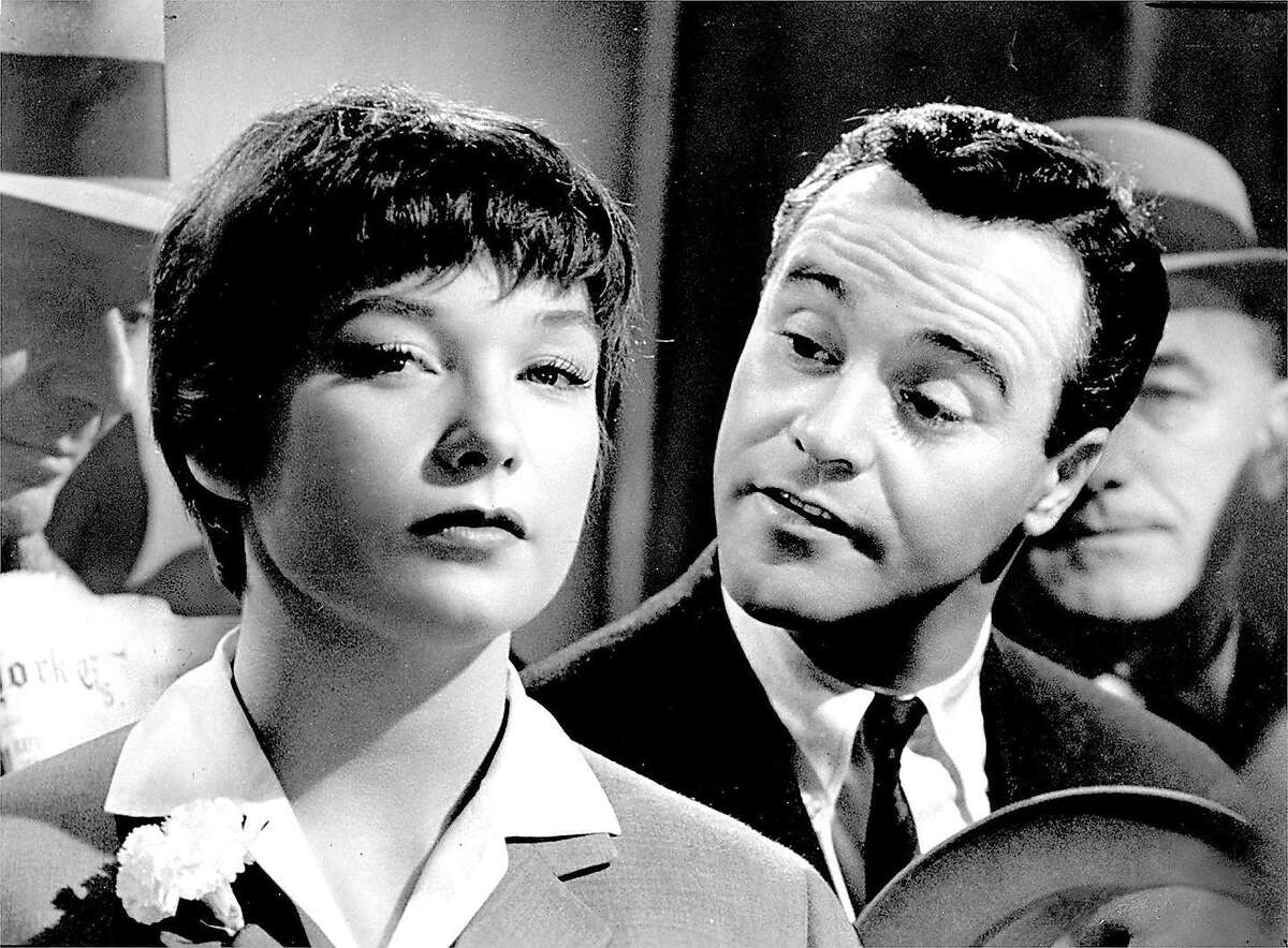 """Shirley MacLaine and Jack Lemmon in """"The Apartment"""""""