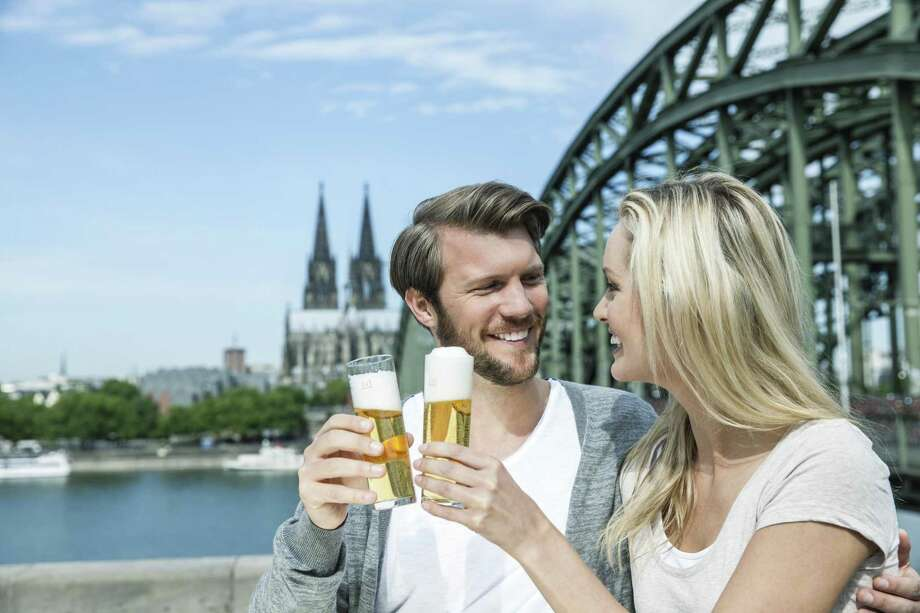 Kölsch is a crisp but delicate beer that's faintly grainy-sweet and has a light to moderate spicy and herbal noble hop aroma. The style hails from Cologne, Germany. Photo: Westend61 /Getty Images / This content is subject to copyright.