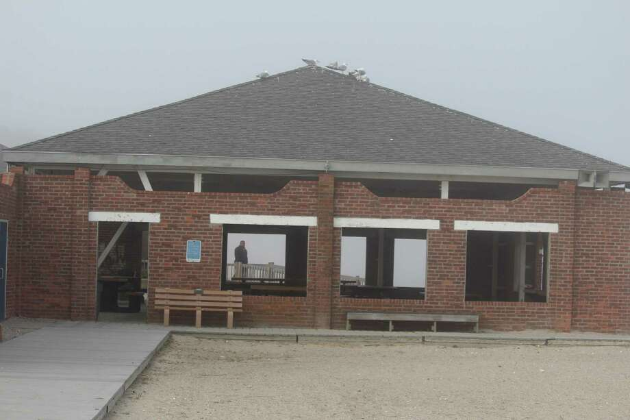 The Compo Beach Bathhouse and Pavilion is set to be renovated as early as this fall. Photo: Chris Marquette / Hearst Connecticut Media / Westport News