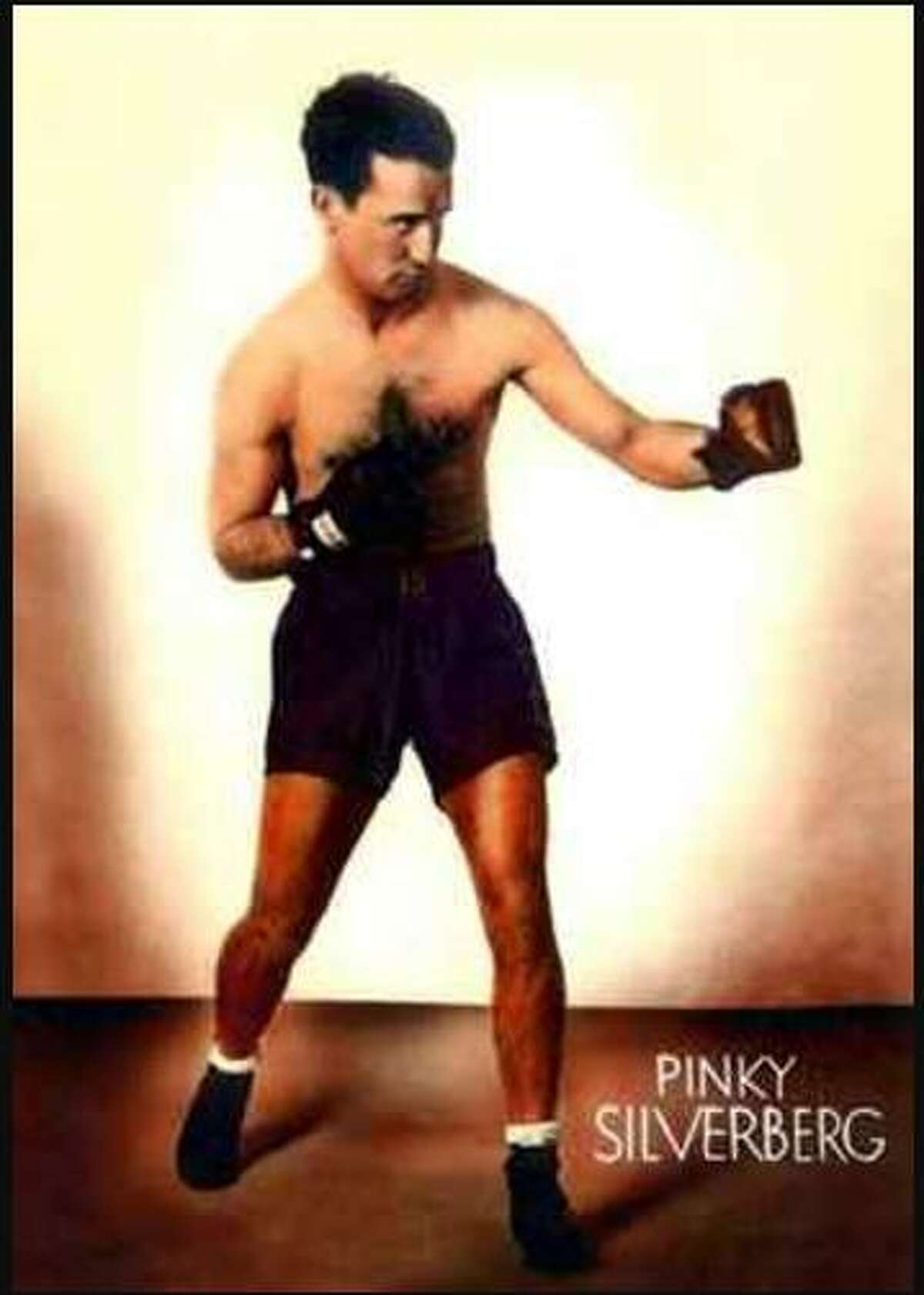Pinky Silverberg, a champion boxer and Ansonia native in won the Flyweight Championship in 1927.