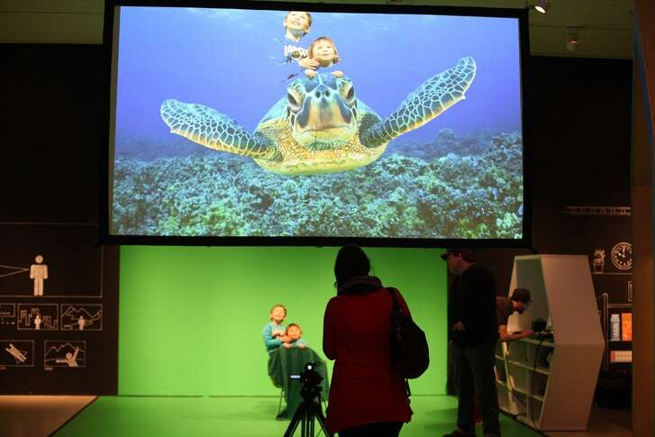 "The DoSeum's summer programming focuses on helping children learn about technology, partly through the interactive exhibit ""DigiPlayspace."""