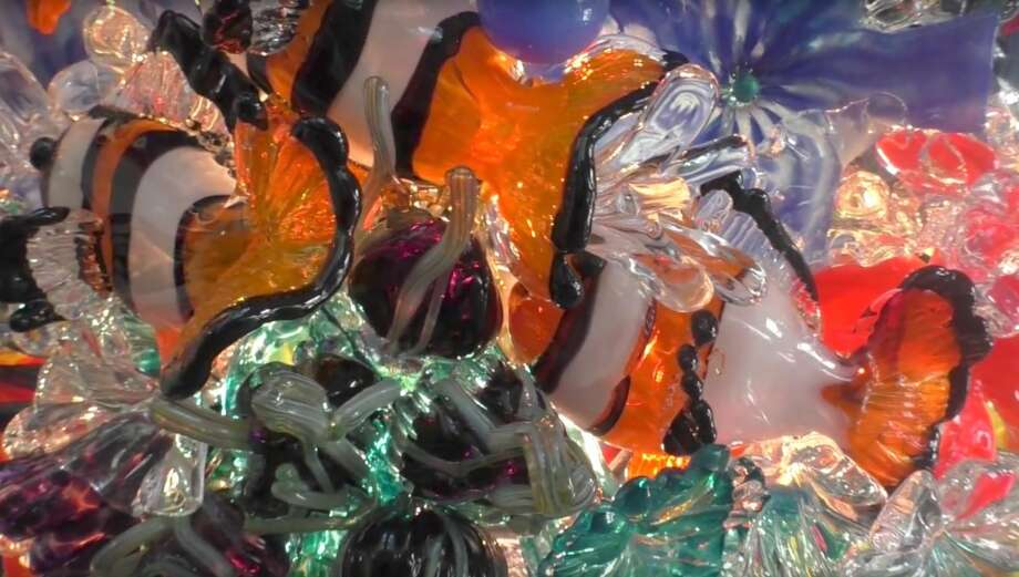 Owner of Garcia Art Glass Gini Garcia found her passion for glassblowing at 28 years old.