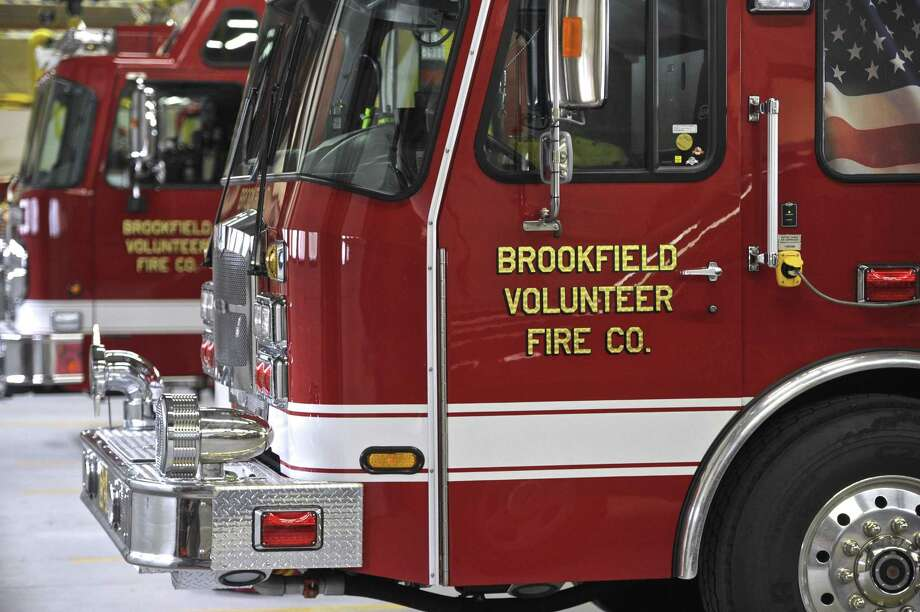File photo of a Brookfield Volunteer Fire Company truck Photo: H John Voorhees III / Hearst Connecticut Media / The News-Times