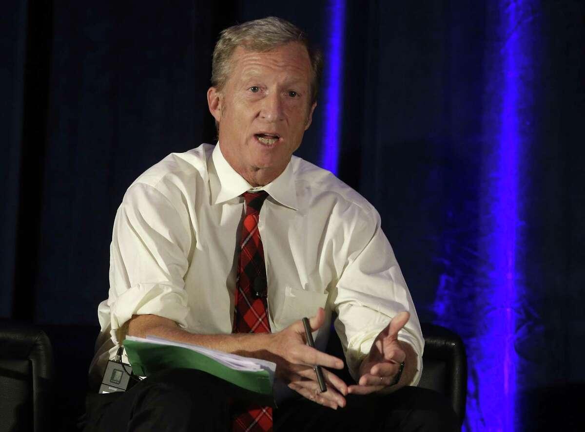 S.F. billionaire and environmental activist Tom Steyer, seen in 2015,