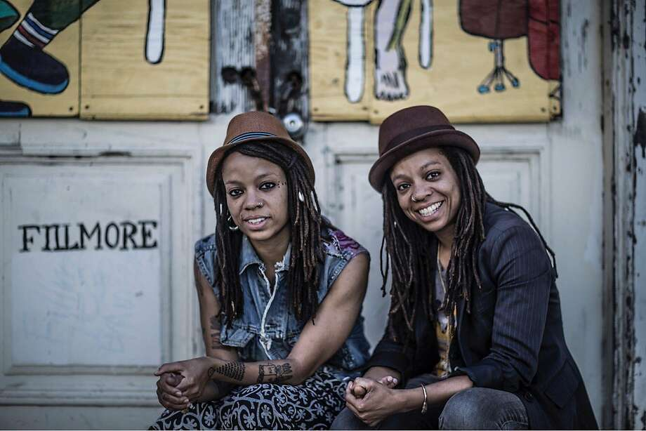 "Melorra (left) and Melonie Green of ""The Ibeji Lounge."" Photo: AlunBe"