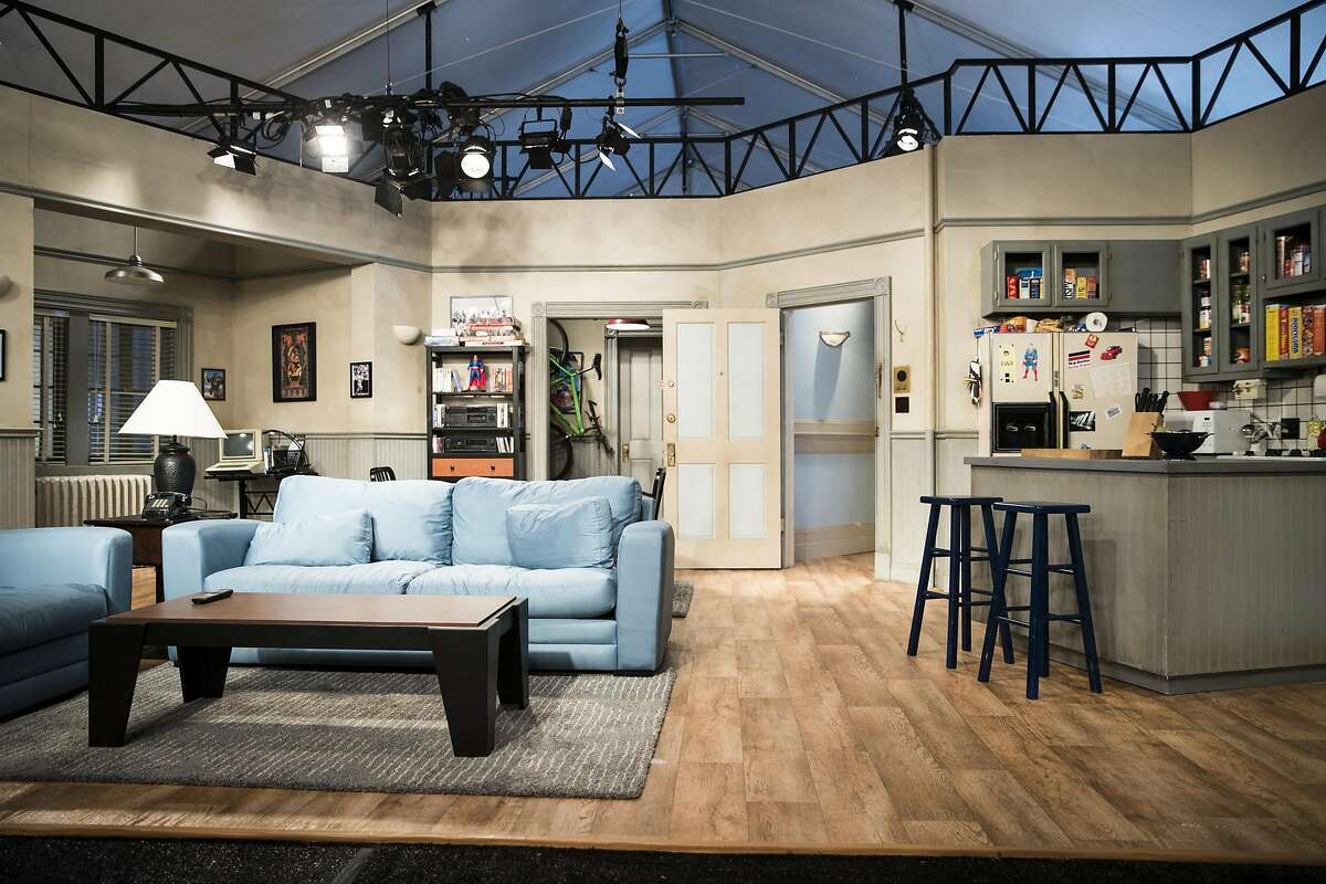 A full-scale apartment replica from comedy show Seinfeld is seen during a preview for the Colossal Clusterfest comedy festival in San Francisco, Calif. on Thursday, June 1, 2017.