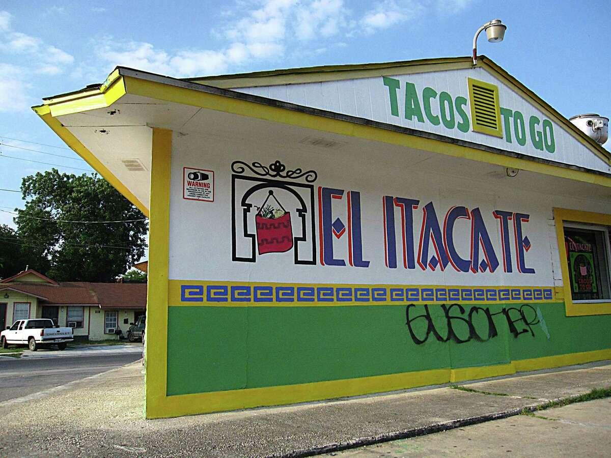 El Itacate Tacos To Go on Nogalitos Street.
