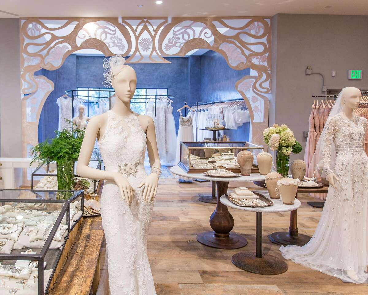 The Walnut Creek Anthropologie features a BHLDN shop that carries attire for bridesmaids as well as brides.