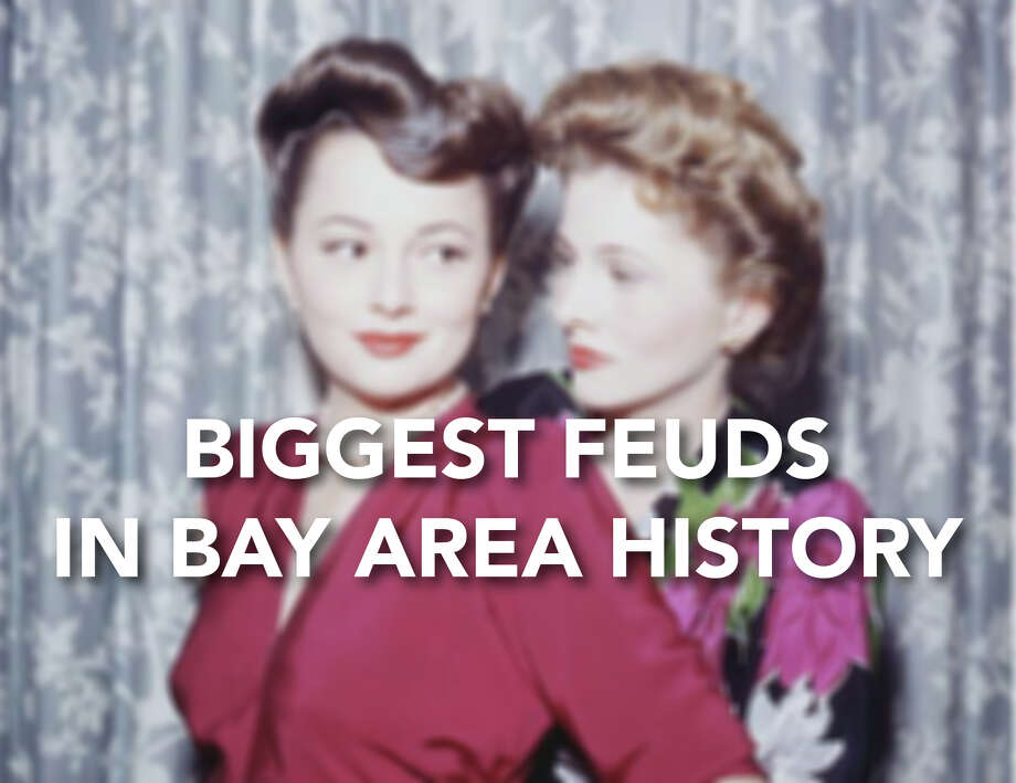 Click through to see some of the biggest feuds in Bay Area history.