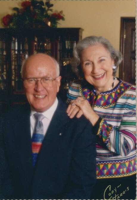 "Thomas ""Tom"" Munroe Jr. and Elizabeth ""Liz"" Munroe married in 1952; they died just 12 days apart. Photo: Courtesy Photo"