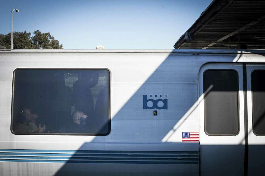 An electrical problem near South Hayward station led to a stalled train and a system-wide BART delay Thursday evening. Photo: Sam Wolson / Sam Wolson / Special To The Chronicle / ONLINE_YES