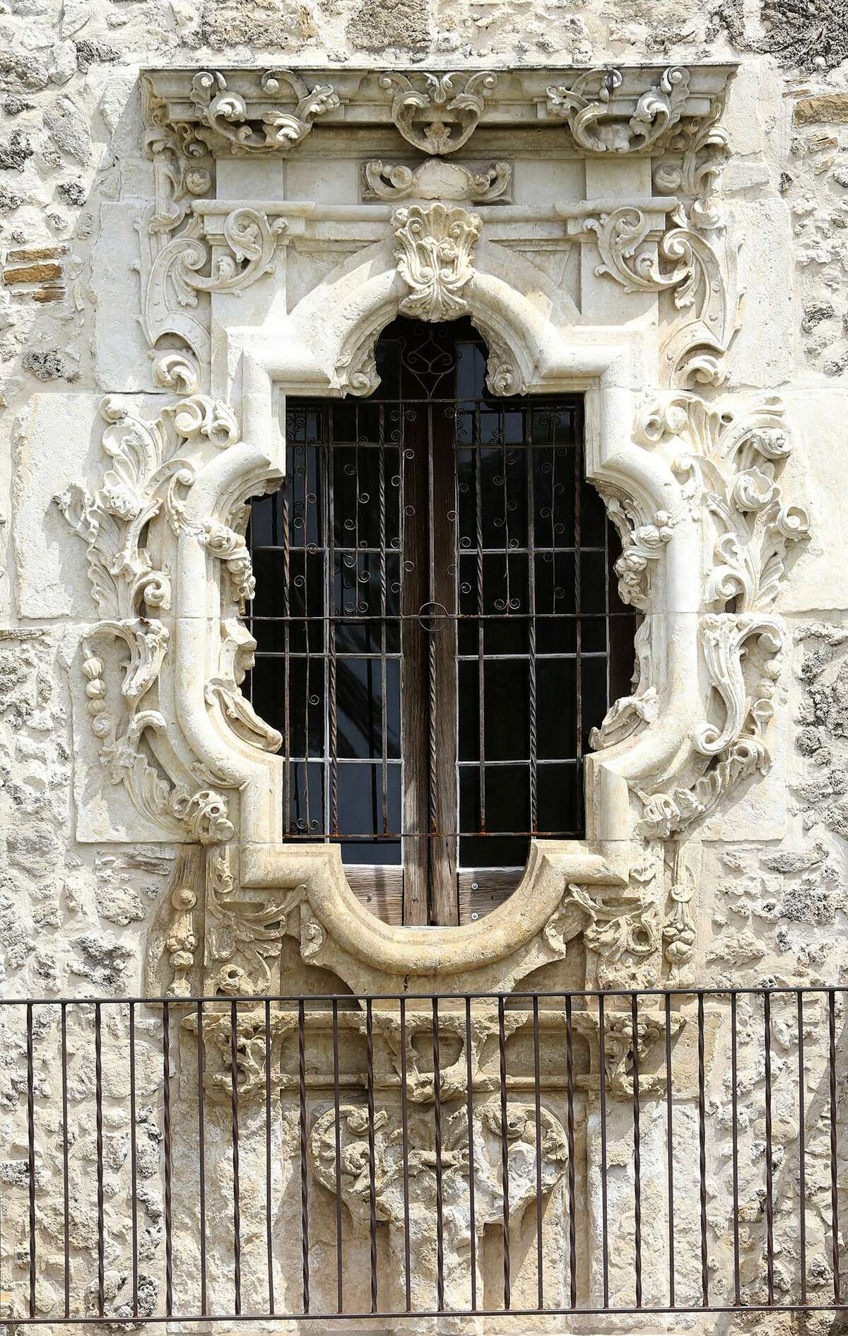 The Rose Window at Mission San Jose.